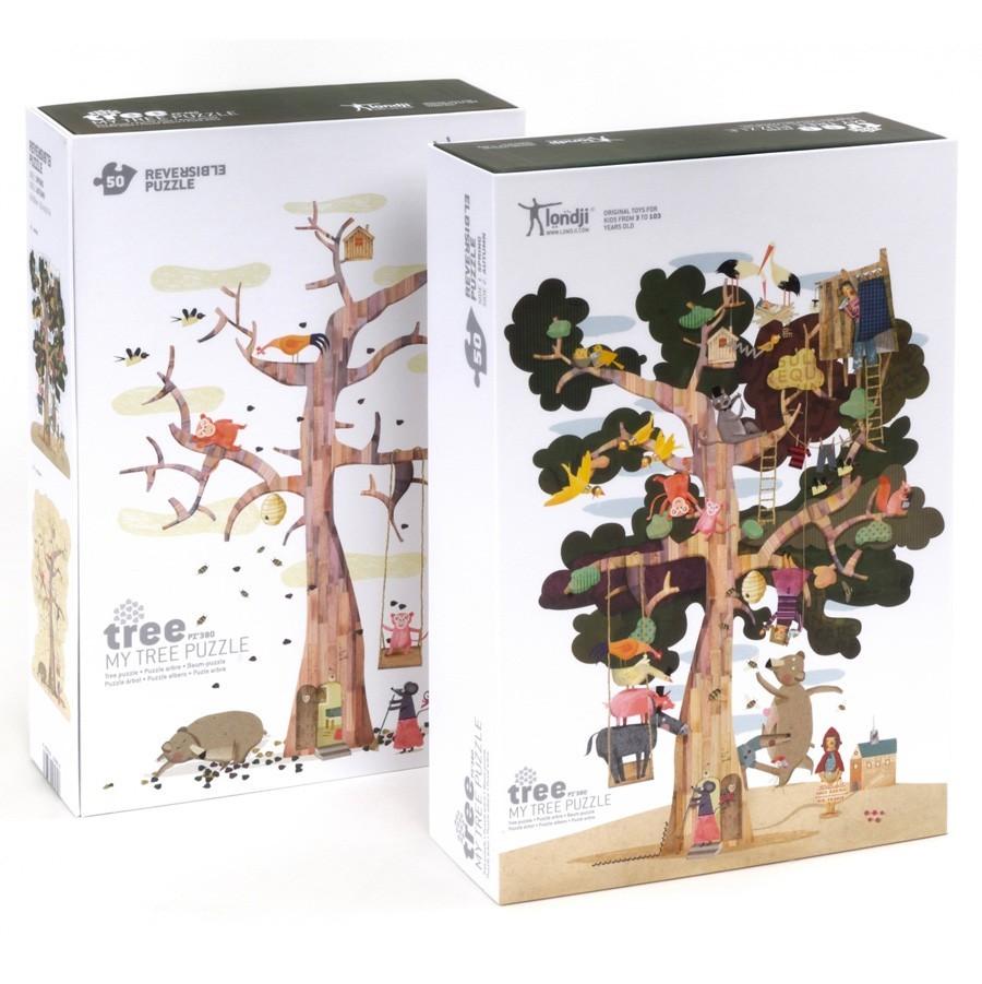 """Londji - 2 Puzzle """"Mein Baum"""""""