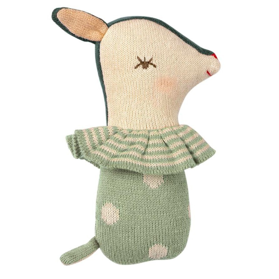 Maileg - Babyrassel Bambi Mint