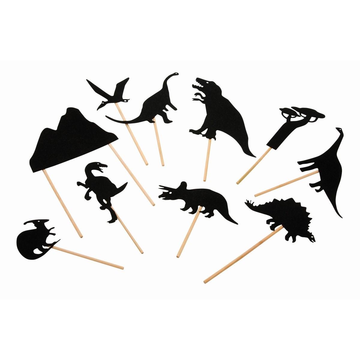 Moulin Roty - Schattenspiel Dinosaurier