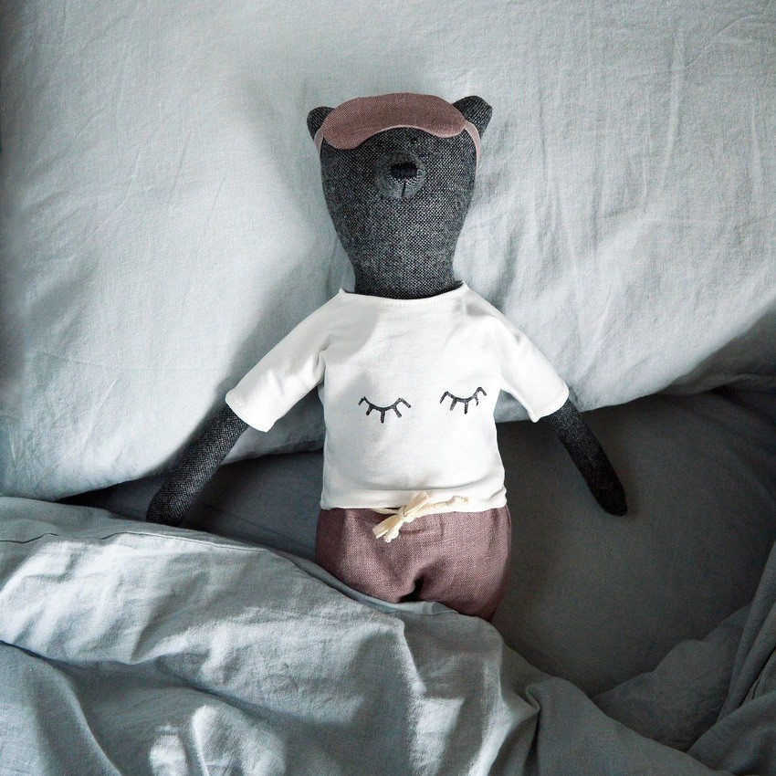 "Philomena Kloss - Set zum Anziehen ""Schlafsachen"""