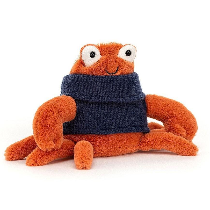 Jellycat - Cozy Crew Crab