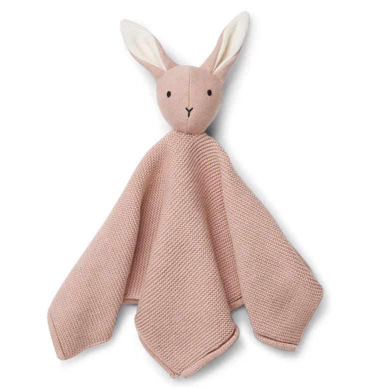 Liewood - Schmusetuch Milo Rabbit Rose
