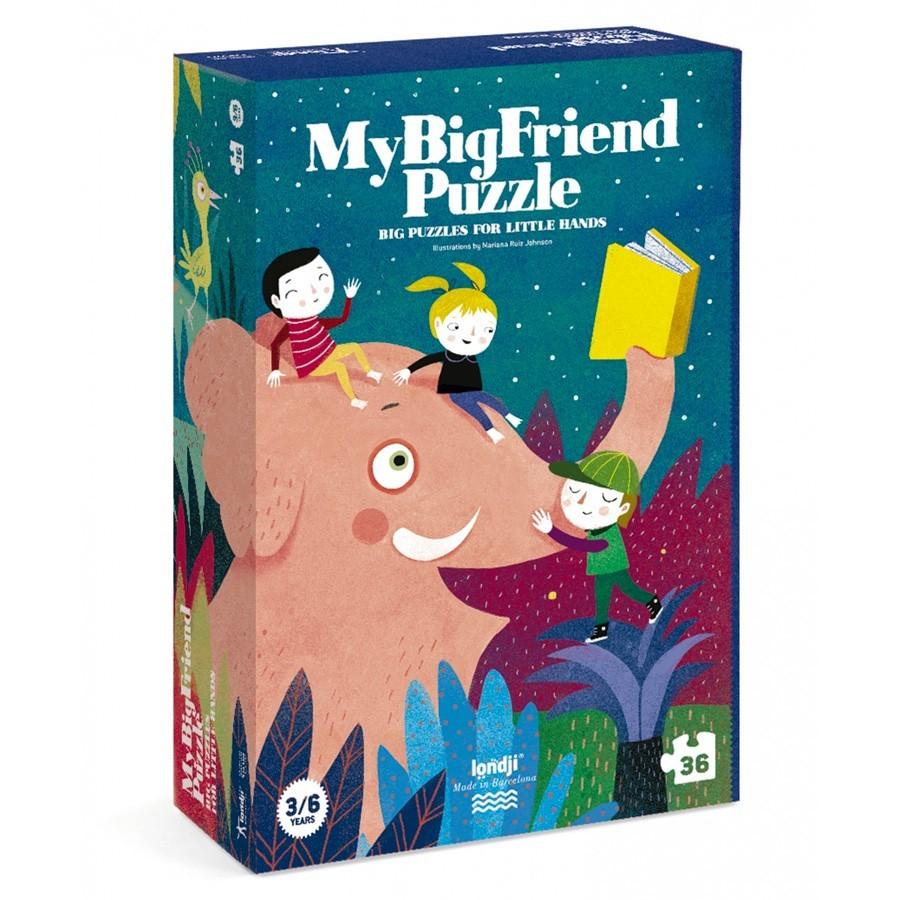 """Londji - Riesenpuzzle """"Mein großer Freund"""""""