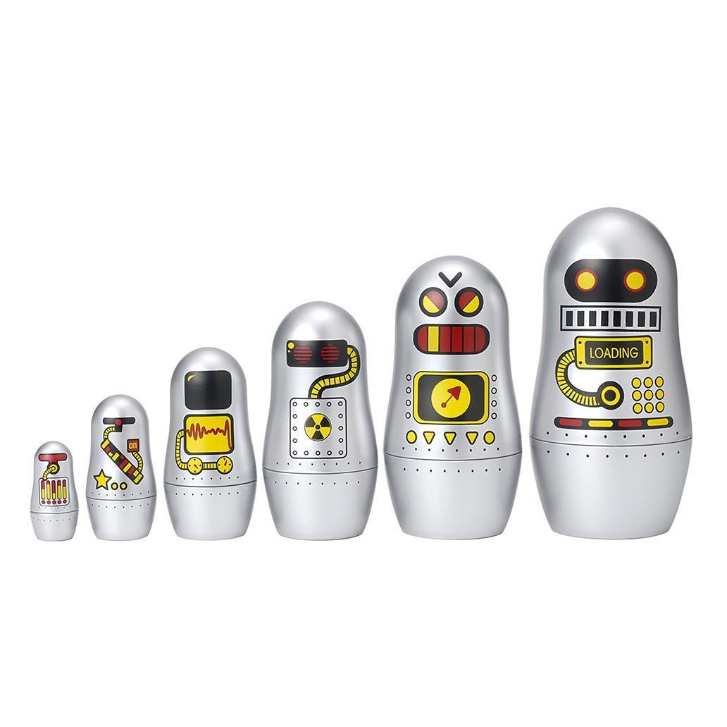 """OMM Design - Kleine Matroschka """"Roboter"""""""