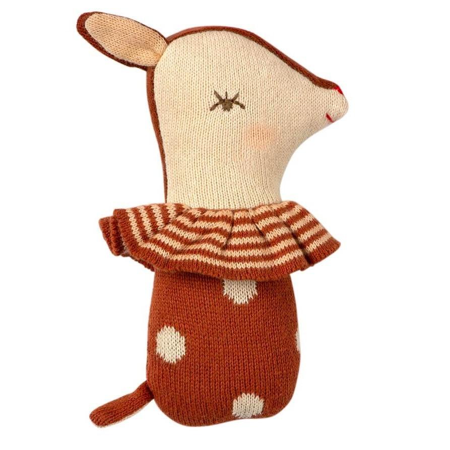 Maileg - Babyrassel Bambi Braun