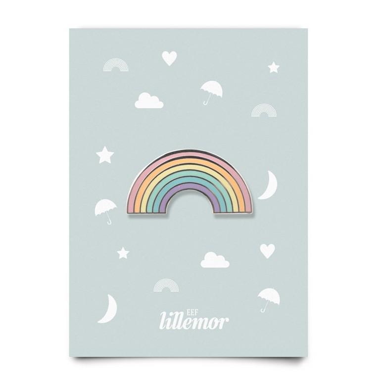Eef Lillemor - Kleine Brosche Regenbogen