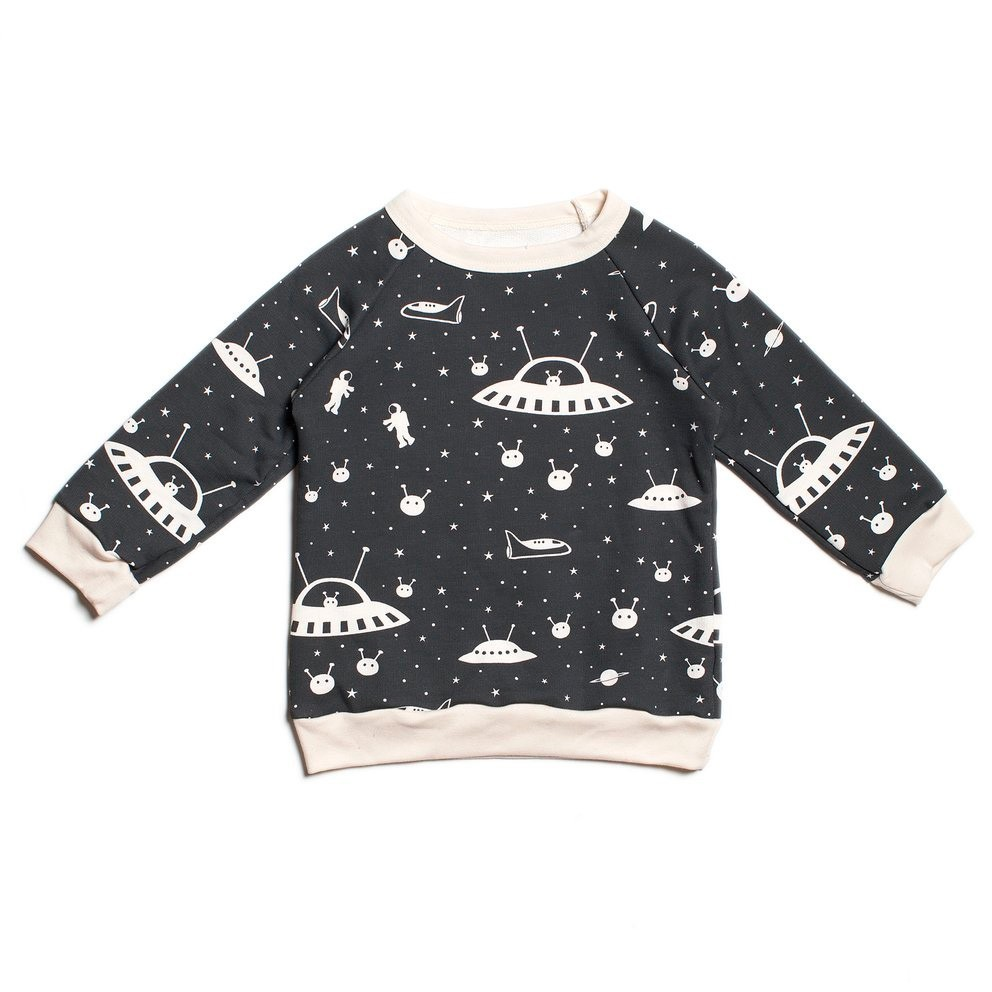 "Winter Water Factory - Sweater ""Space"""