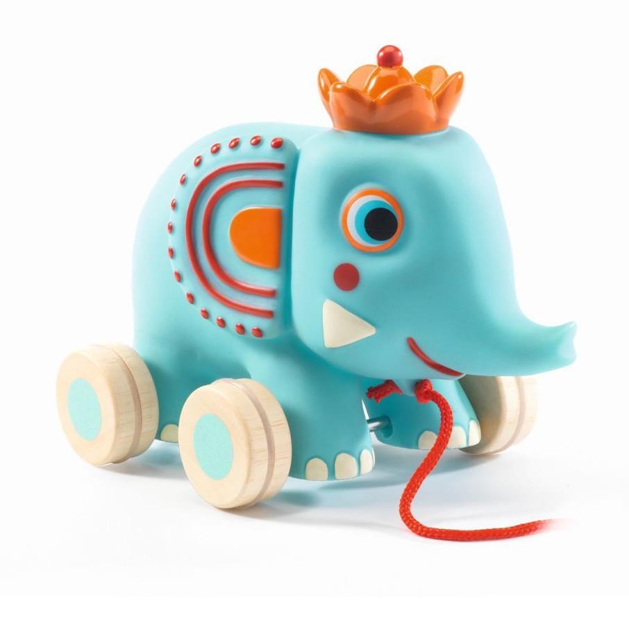 "Djeco - Nachziehtier ""Zephir"" Elefant"