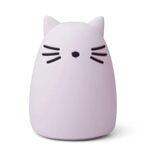 Liewood - Nachtlicht Cat Winston Lavendel