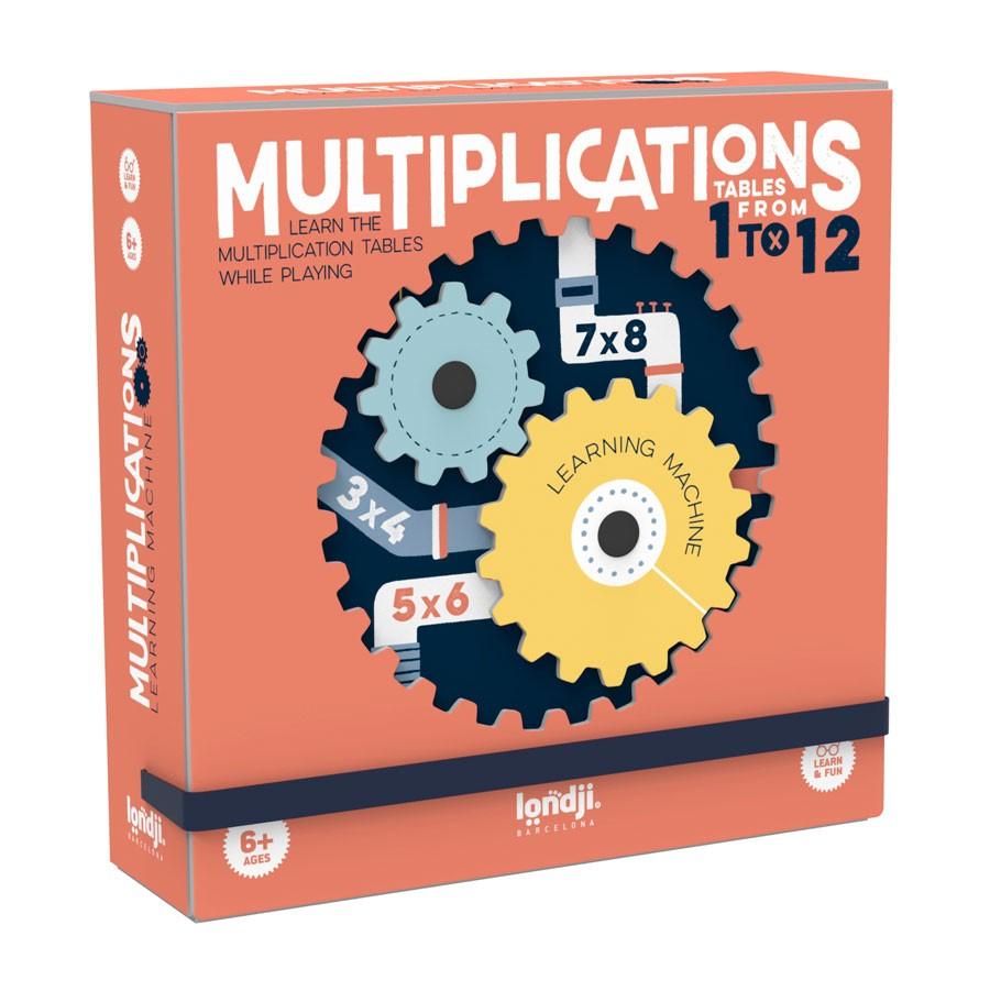 "Londji - Mathe Spiel ""Multiplikationen"" ab 6 Jahre"