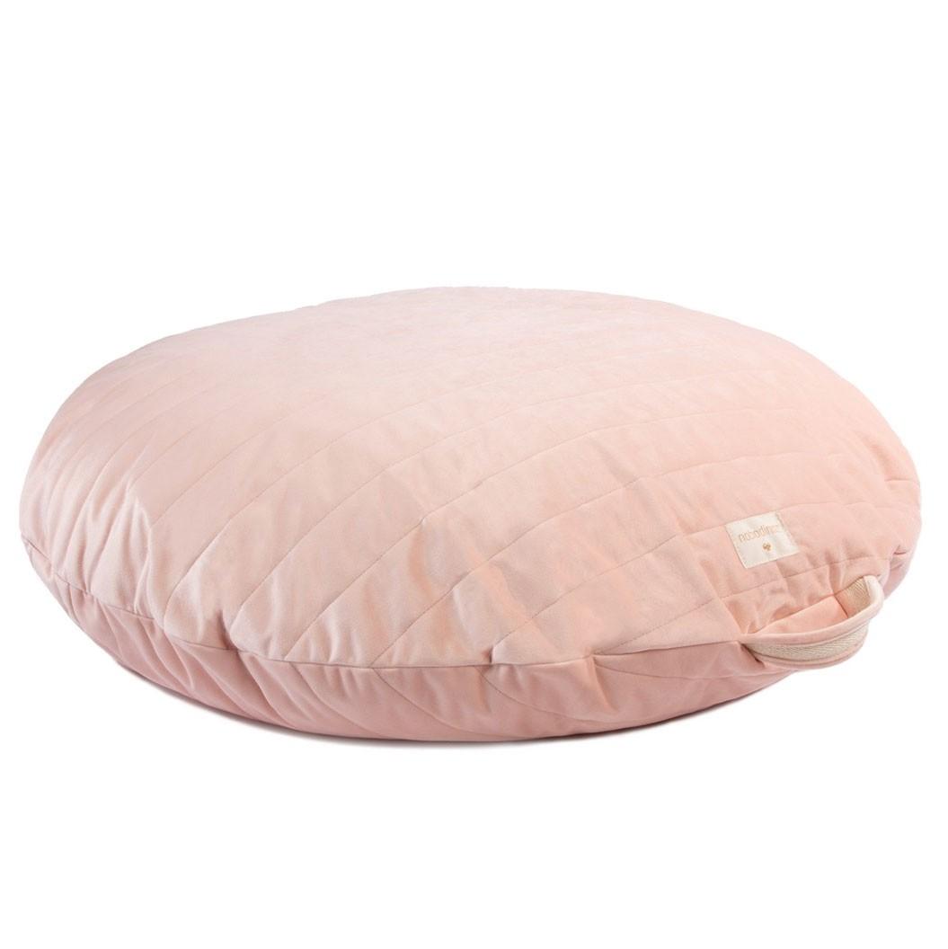 Nobodinoz - Sitzsack Savanna Velvet Sahara Bloom Pink