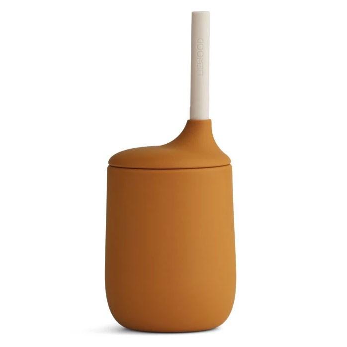 Liewood - Trinkbecher Sippy Cup Ellis Mustard Sandy Mix
