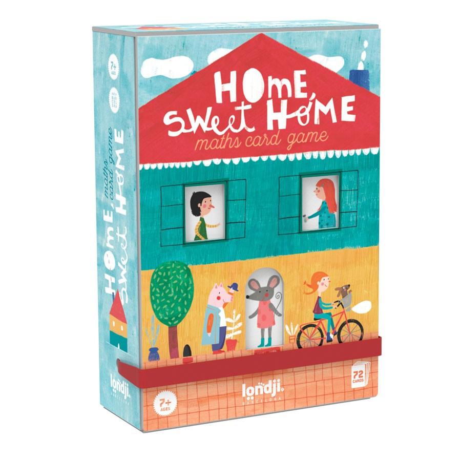 "Londji - Mathe Spiel ""Home, sweet Home"" ab 7 Jahre"