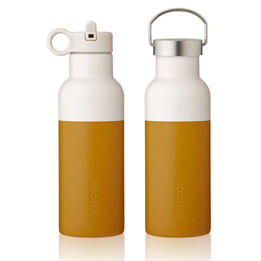 Liewood - Trinkflasche Neo Senf Sandfarben 500ml