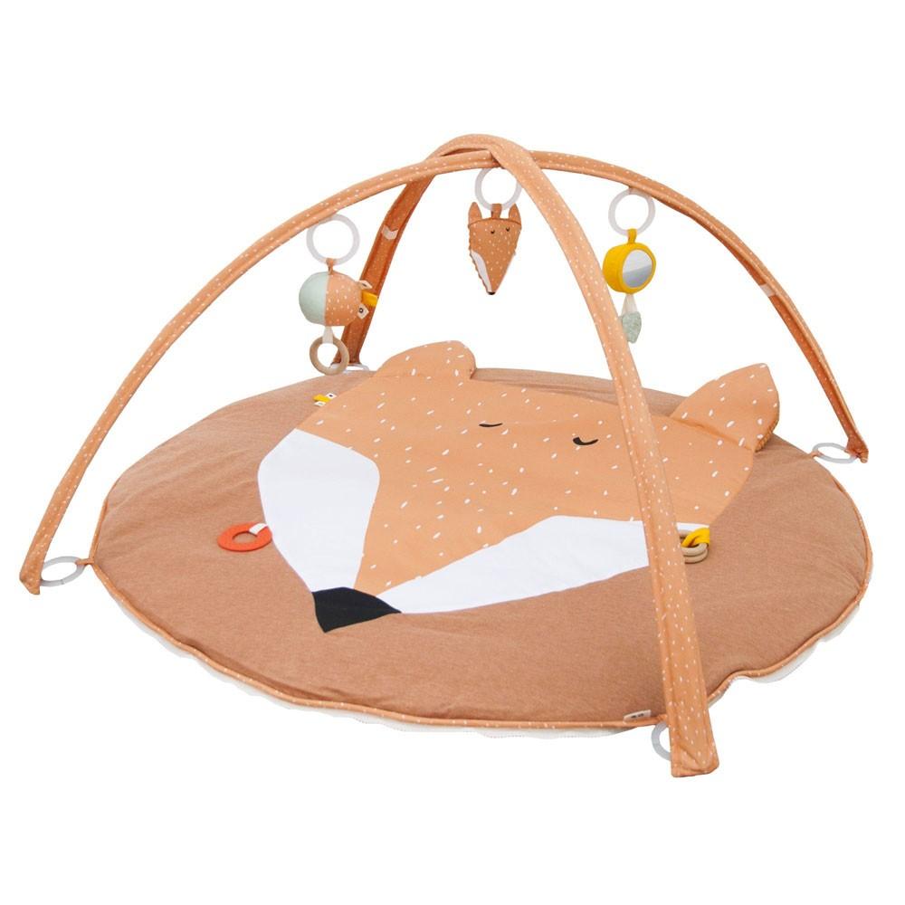 Trixie Baby - Baby Spieldecke mit Bogen Fuchs