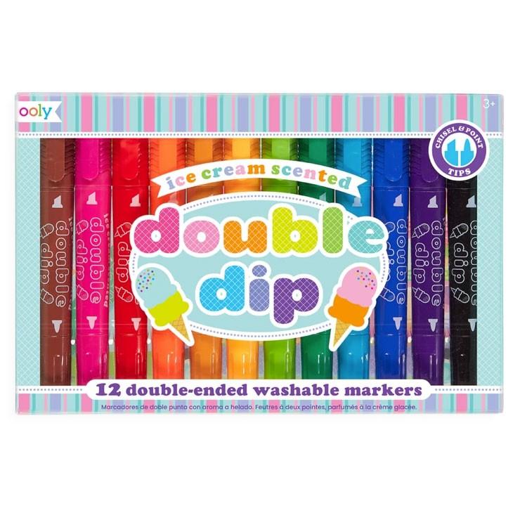 OOLY - 12 Marker Regenbogen Double Dip