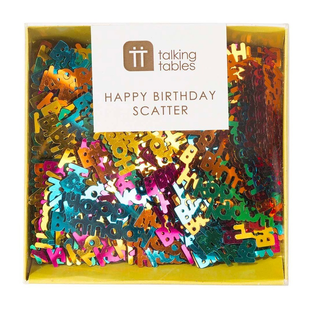 "Talking Tables - Konfetti ""Happy Birthday"""
