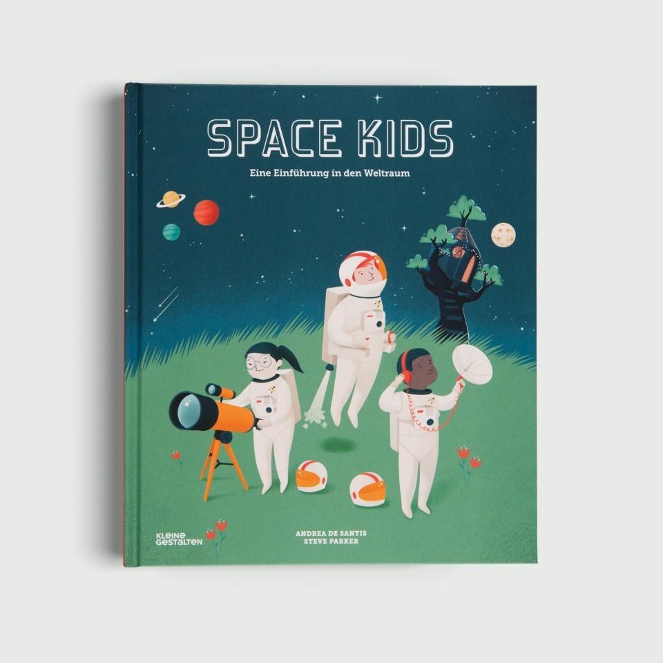 Kinderbuch - Space Kids