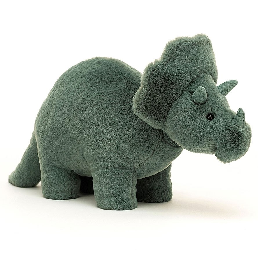 Jellycat - Fossilly Triceratops