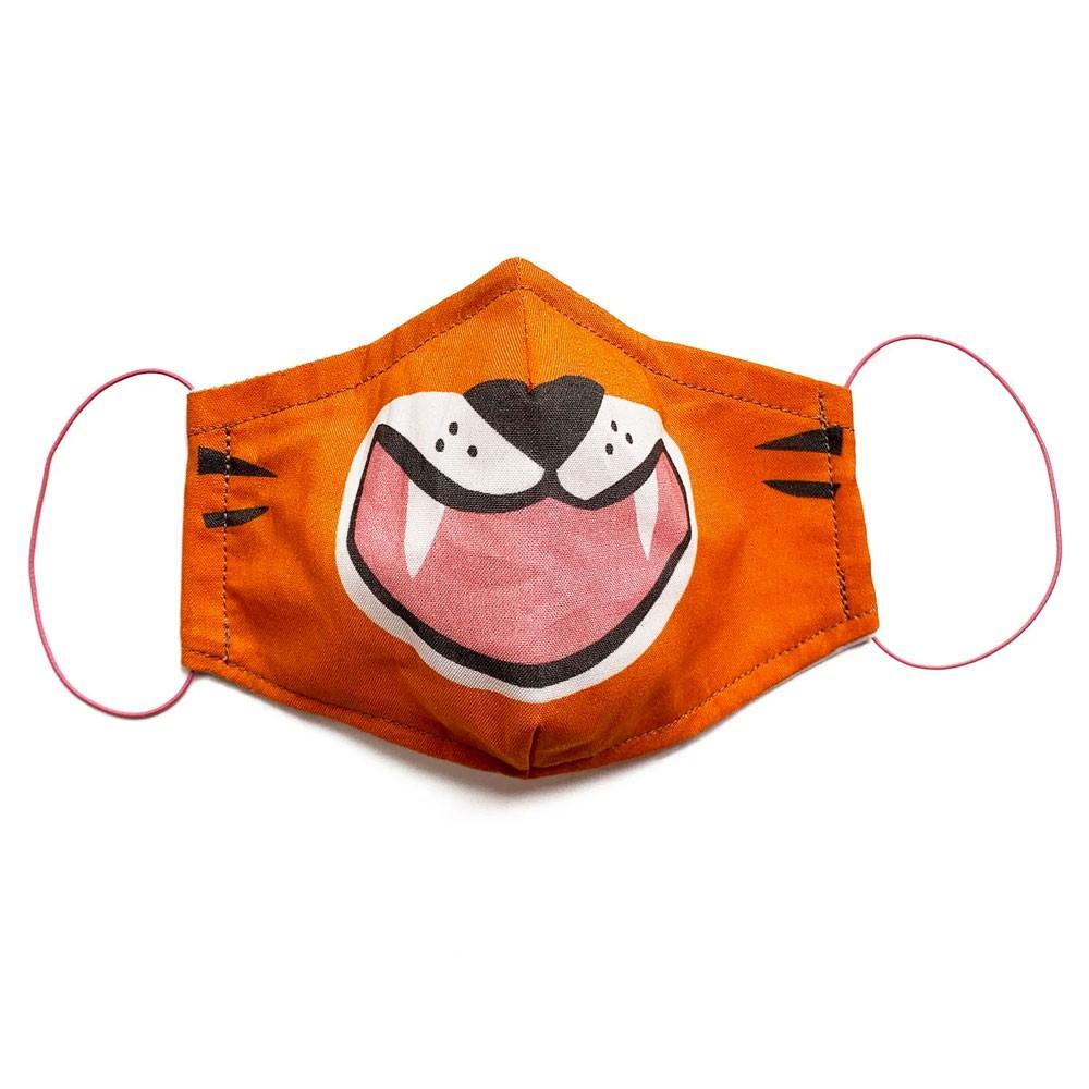 Gesichtsmaske Tiger für Kids Größe M