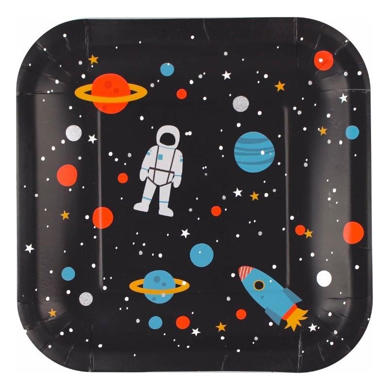 """Ava & Yves - 8 Pappteller """"Space"""""""