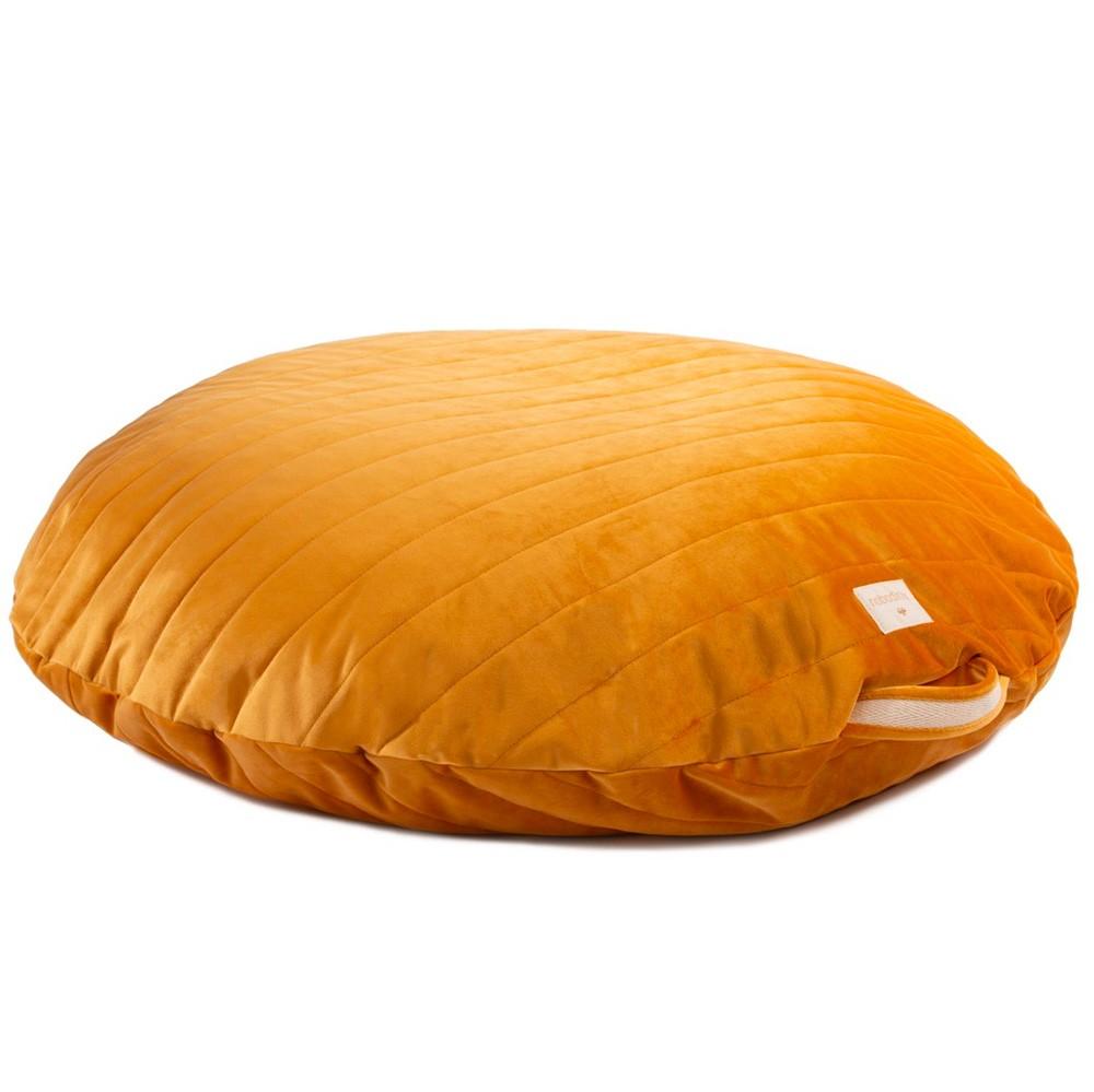 Nobodinoz - Sitzsack Savanna Velvet Sahara Yellow Farniente