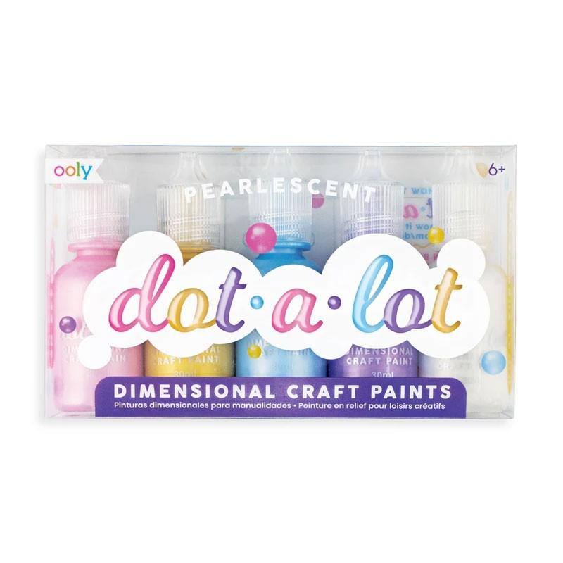 "OOLY - 5 Metallic Farben zum tupfen ""Dot-A-Lot"""