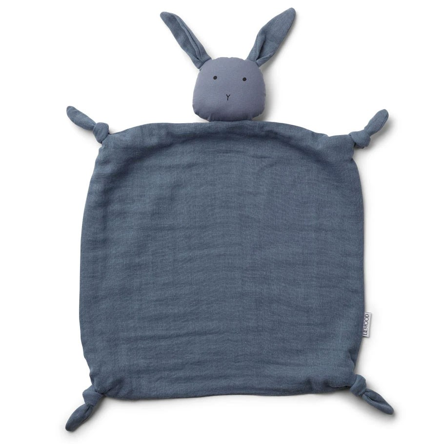 Liewood - Schmusetuch Agnete Rabbit Blue Wave