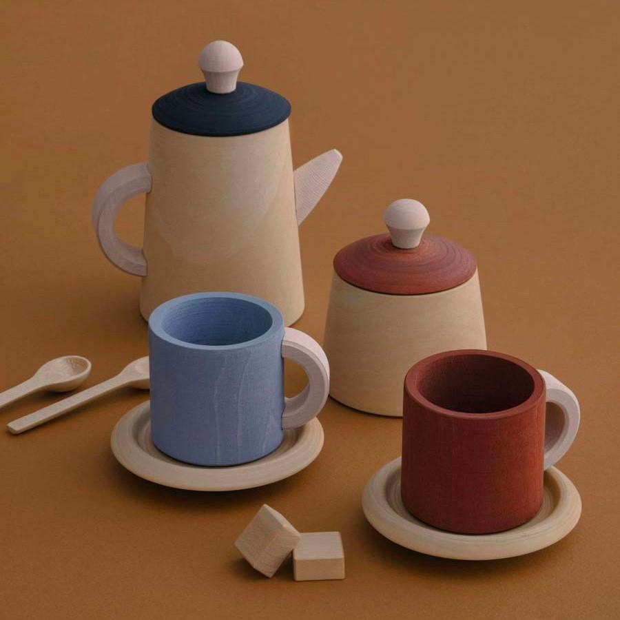 Raduga Grez - Tee Service aus Holz