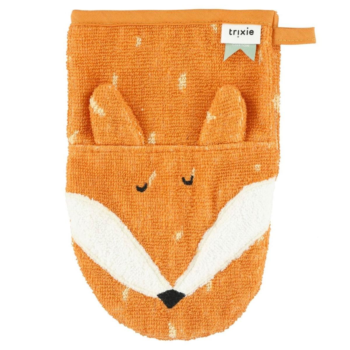 Trixie Baby - Waschlappen Mr Fox Orange