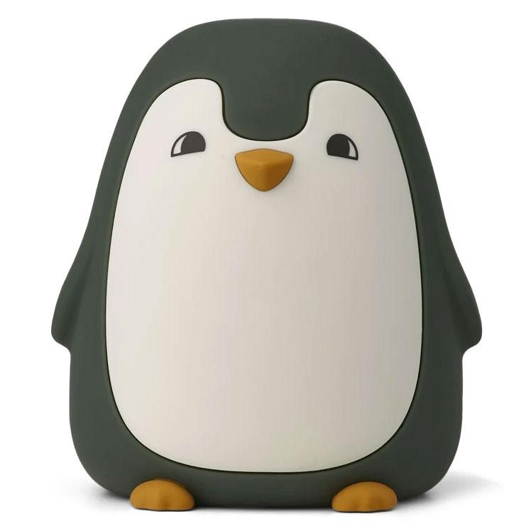 Liewood - Ditlev night light - Penguin hunter green