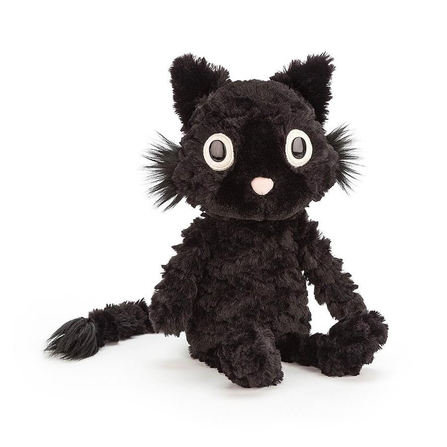 Jellycat - Schwarze Kuschelkatze