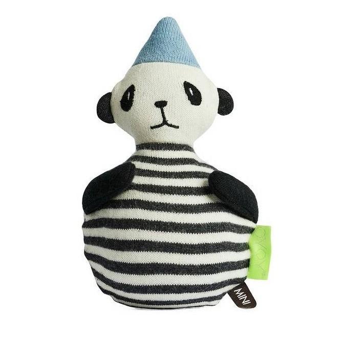 OYOY - Panda Spielzeug aus Strick