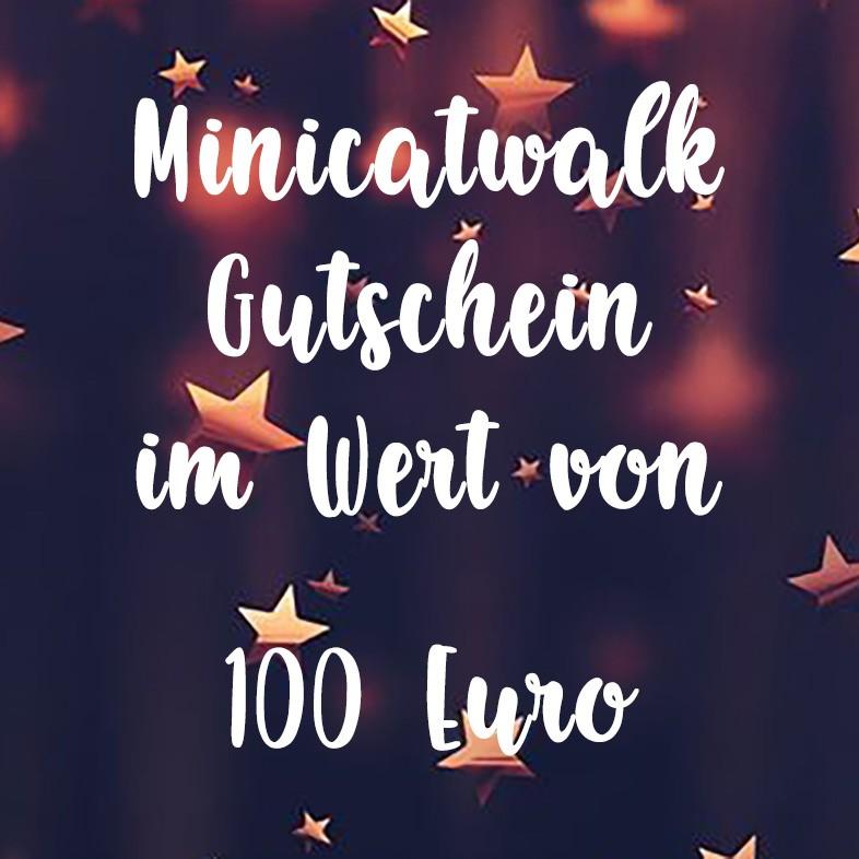 Minicatwalk Online Gutschein 100 Euro