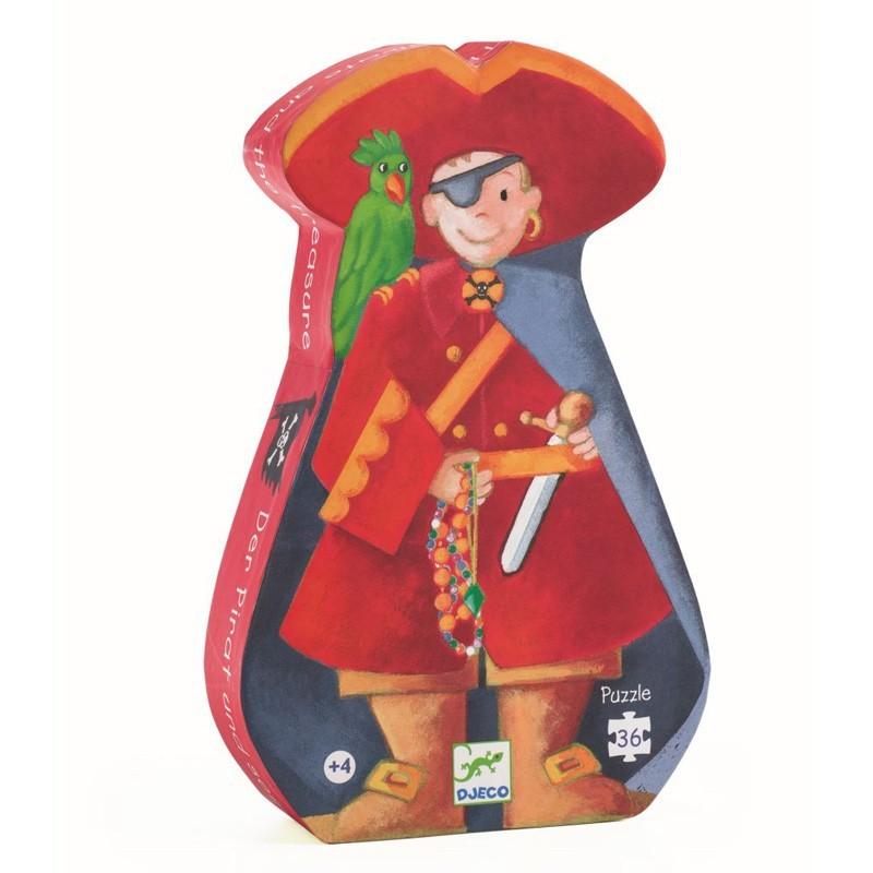"Djeco - Puzzle ""Pirat"" für Kinder"