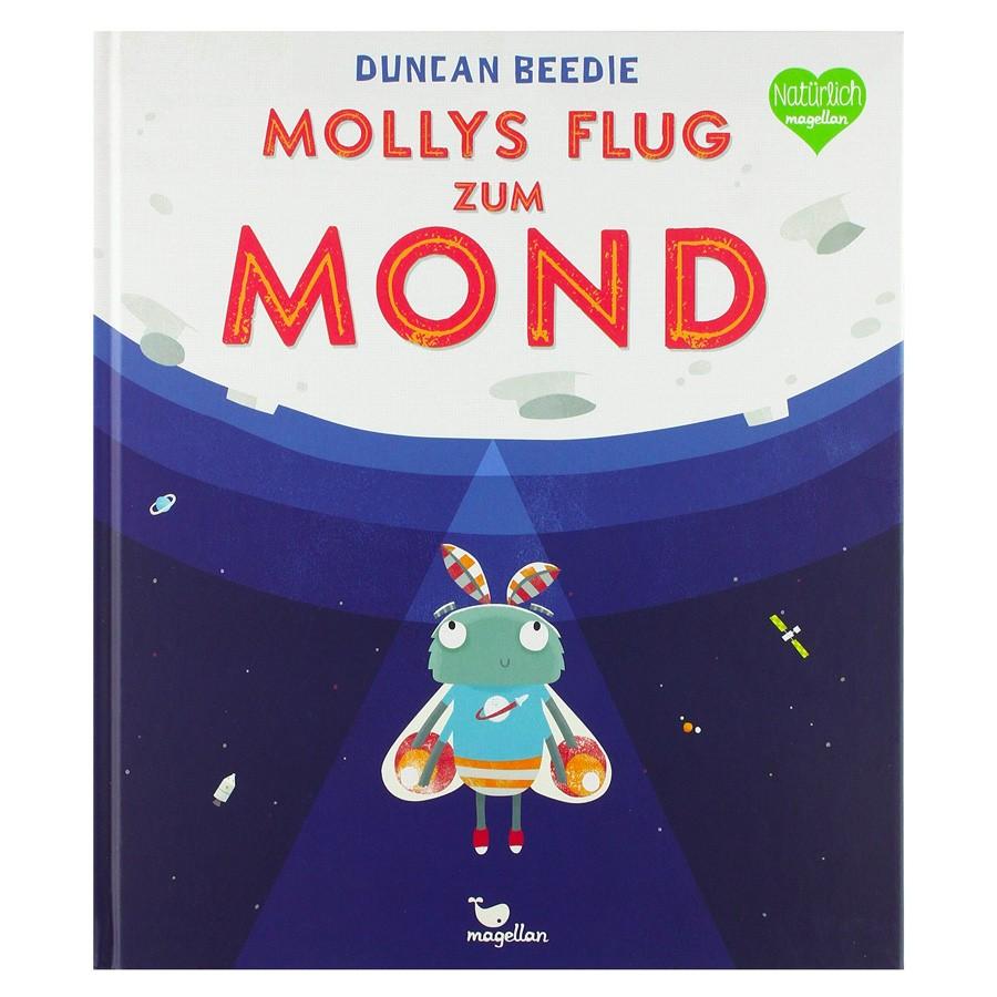 Kinderbuch - Mollys Flug zum Mond