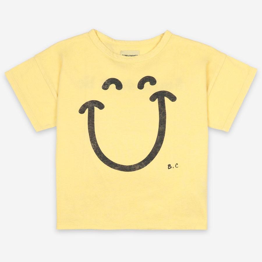 "Bobo Choses - T-Shirt ""Big Smile"" Gelb"