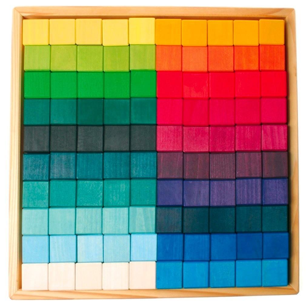 Grimm's Spielzeug - XXL Mosaik Bauklötze
