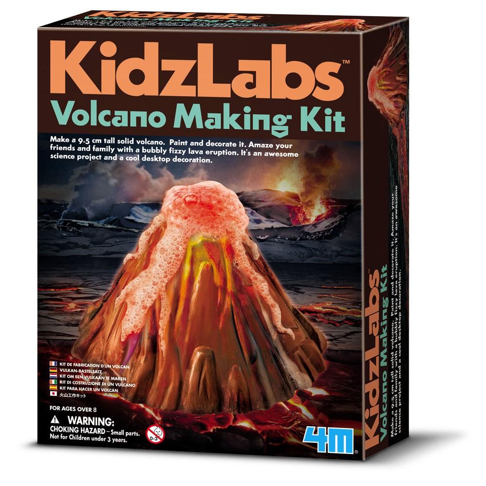 4M Kidzlab - Vulkan Bastelset