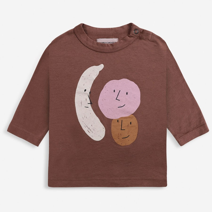 Bobo Choses - Baby Long Sleeve Shirt Fruits