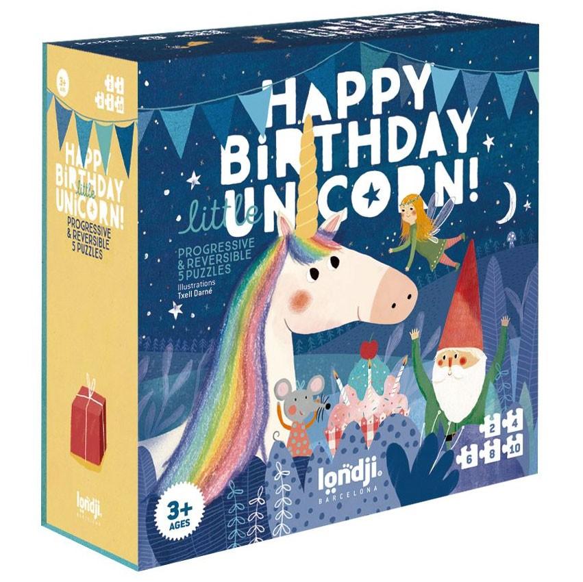 Londji - Puzzle Happy Birthday Unicorn