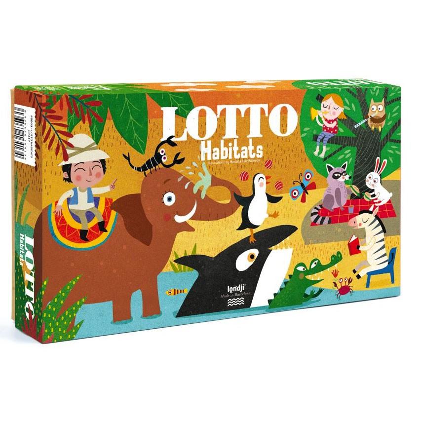 """Londji - Lotto Spiel """"Habitats"""""""