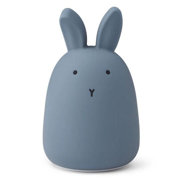 Liewood - Nachtlicht Winston Rabbit Stormy Blue