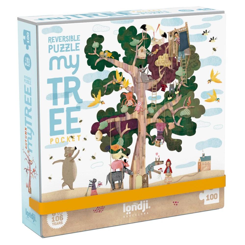 "Londji - Pocket Puzzle ""Mein Baum"""