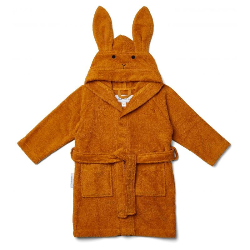 Liewood - Bademantel Lily Rabbit Mustard