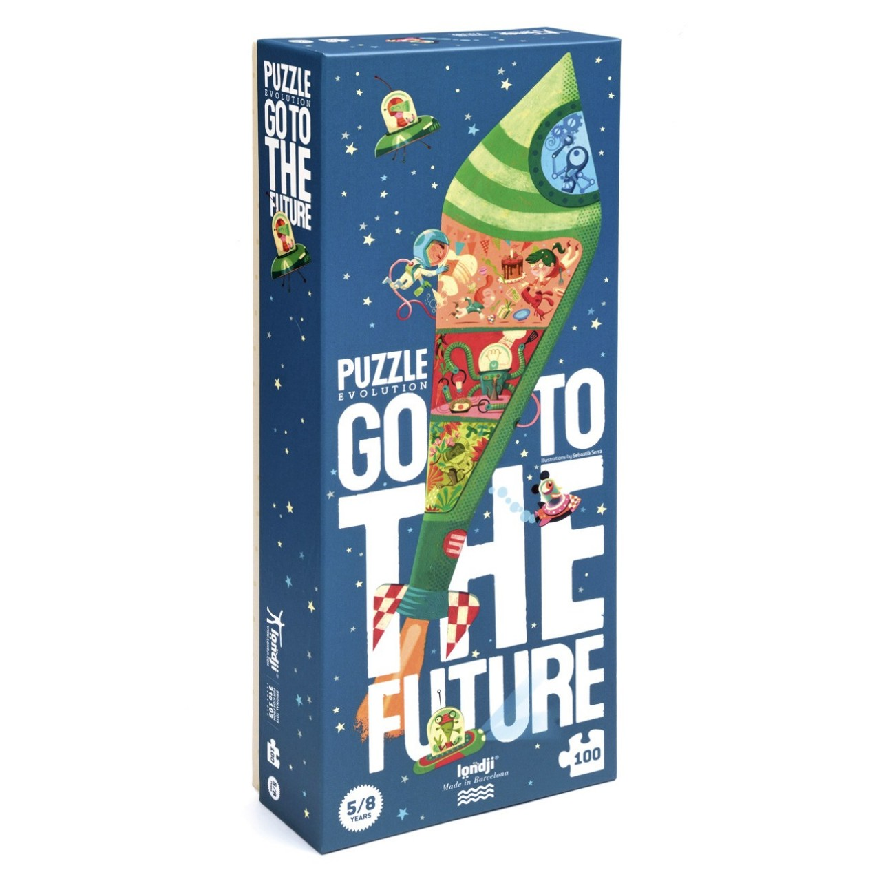 "Londji - Großes Puzzle ""Go to the future"""