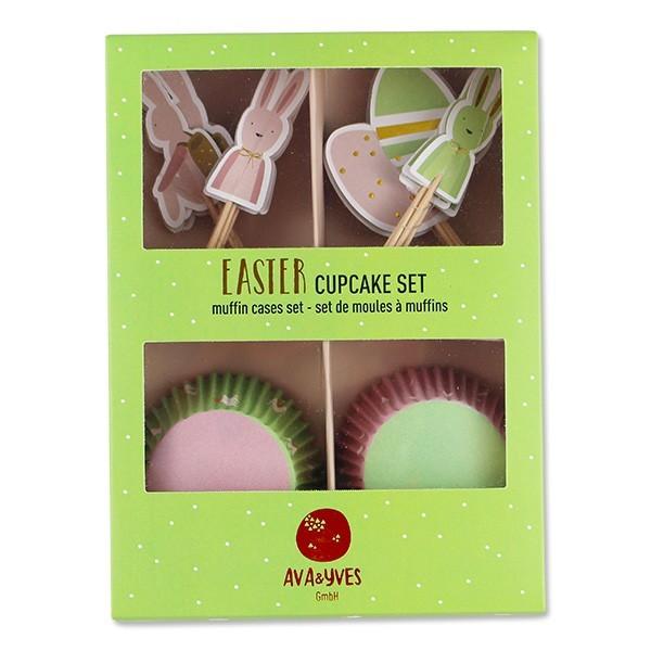 "Ava & Yves - Cupcake Set ""Ostern"""