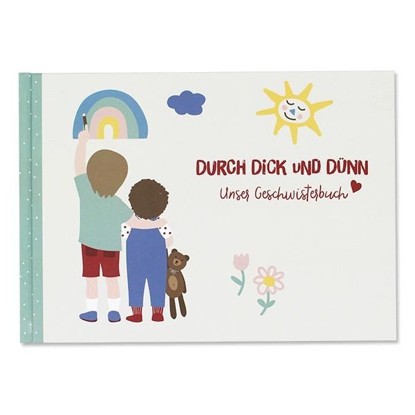 "Ava & Yves - Geschwisterbuch ""Durch Dick und Dünn"""