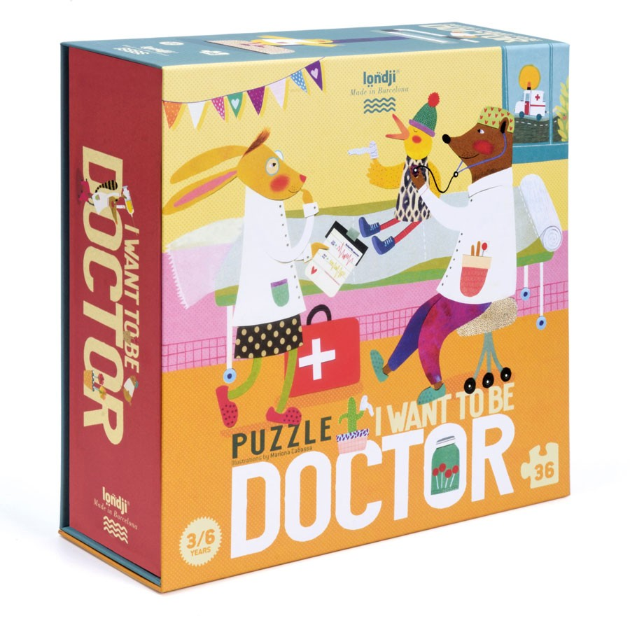 Londji - Puzzle I want to be Doctor