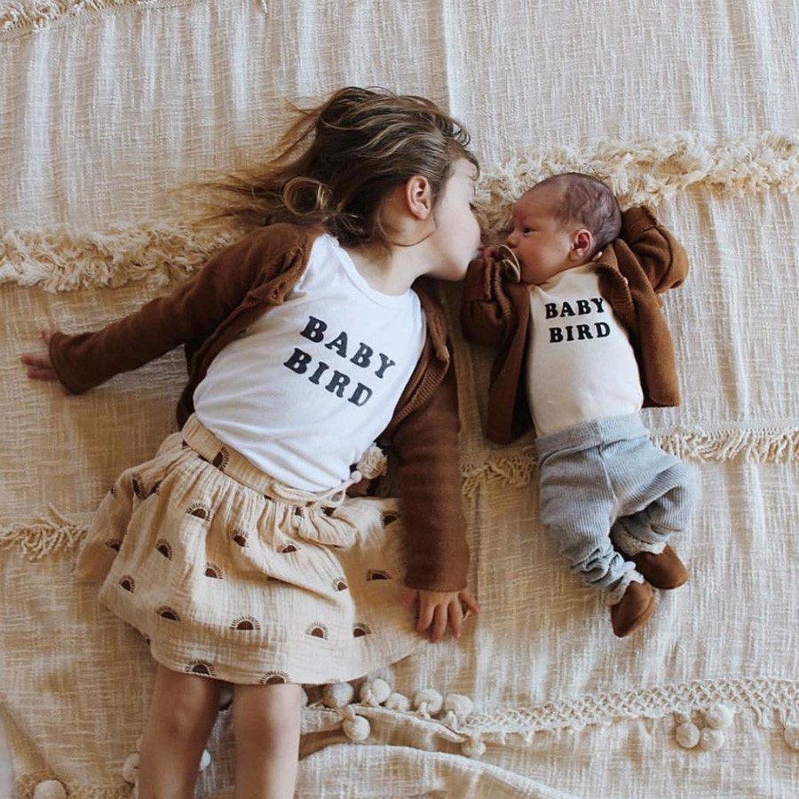 "The Bee & the Fox - Shirt ""Baby Bird"""